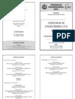 Modulo III Cirugia de Hepatobiliopancreatica 24 y 25 de Agosto Salon OSDE
