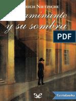 El caminante y su sombra - Friedrich Nietzsche.pdf