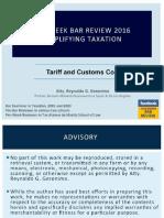 tariff and custom.pdf