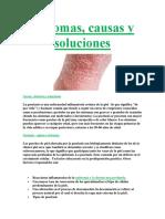 Síntomas, causas y soluciones De La Psoriasis