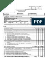 Lista de Chequeo Empresa Principal (Constructora) 2012