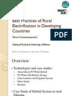Best Practices Rural Electrification