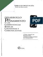 Desarrollo Del Pensamiento y Las Competencias Basicas Cognitivas y Comunicativas