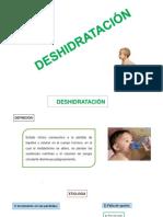 Deshidratación y Parasitosis Intestinal Power Point