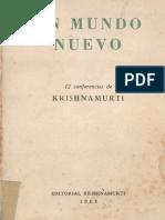 UN MUNDO NUEVO - Jiddu Krishnamurti.pdf