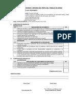 Informe de Revision y Defensa Del Perfil Del Trabajo de Grado