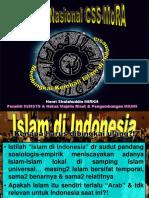 Membingkai Kembali Islam Di Indonesia- IAIN Sby(1)