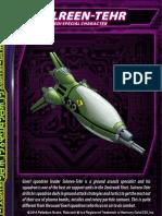 Zentraedi Sulreen-Tehr Character Card for Robotech RPG Tactics