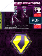 Zentraedi Serauhaug-Regult Squad Support Card for Robotech RPG Tactics