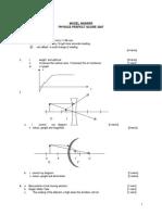 Marking Scheme Perfect Score Physics Module