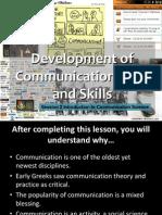 Development of Communication Field & Skill 2