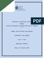 Trabajo Final I Semestre Algoritmo y Estructura de Datos