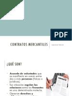 Contratos mercantiles 2018