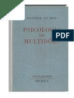 LE BON, Gustave. Psicologia das Multidões.pdf