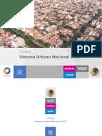 Catalogo Sistema Urbano Nacional 2012