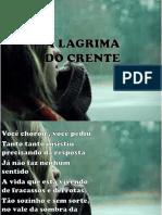 A LAGRIMA DO CRENTE.pptx