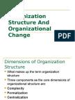 organization_structure & change