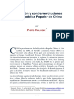 Revolucion y Contrarevolucion en China