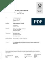 071018 Technical Report TüV
