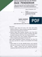 Surat Edaran Libur Idul Adha (1)