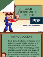Club Tecnicas de Estudio Español