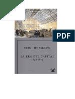 Hobsbawm Eric - Las Eras 02 - La Era Del Capital (1848-1875).doc