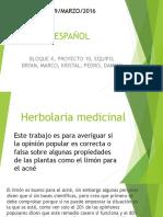 Herbolaria Medicinal