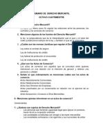 Ac-temario de Examen de Derecho Mercantil