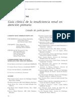 Guía Clinica de La IRC en Atencion Primaria