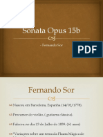 Sonata Opus 15b