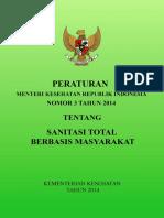 Permenkes no 3 tahun 2014 tentang STBM.pdf