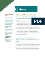 Shadac Share News 2010oct04
