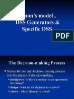 DSS Generators, SIMOn's Model
