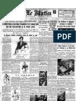 Le Matin - 28 Dicembre 1935