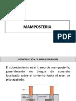 Generalidades en mamposteria y acabados
