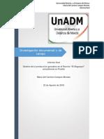 Integración y Redacción Del Informe Final