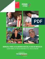 Manual Para Elaboración Del Plan de Negocios