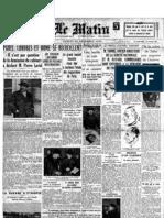 Le Matin 21 Dicembre 1935
