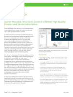 Arbortext Editor Data Sheet