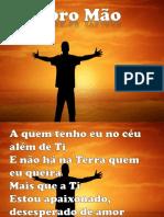 ABRO MÃO - TOQUE NO ALTAR.pptx