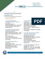 Engineering ISI Journals