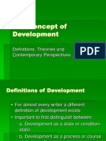 Concept of Development