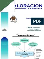 Valoraciónde Empresas -Julio a. Sarmiento DIAPOS