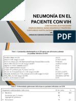 8.- Neumonia en El Paciente Con Vih