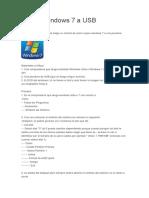 Copiar Windows 7 a USB