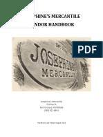 josephines vendor handbook final
