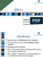 Hindustan Unilever Limited HUL
