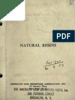 Natural resins