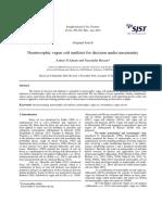 Neutrosophic vague soft multiset for decision under uncertainty