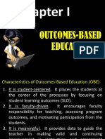 Lesson 1 - Outcomes-based Education